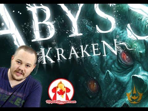 Maple Meeple Reviews: Abyss - Kraken
