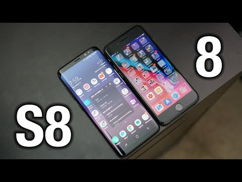 iPhone 8 vs Samsung Galaxy S8: Sorry Apple..