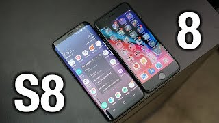 Apple iPhone 8 vs Samsung Galaxy S8: Sorry Apple..