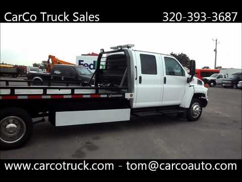 Chevrolet C4500 Crew Cab Rollback Tow Truck For Sale By CarCo Auto And Truck Mp3