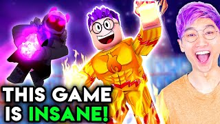 Can You Beat This EVIL VILLAIN In This SUPERHERO ROBLOX GAME!? (MAD CITY)