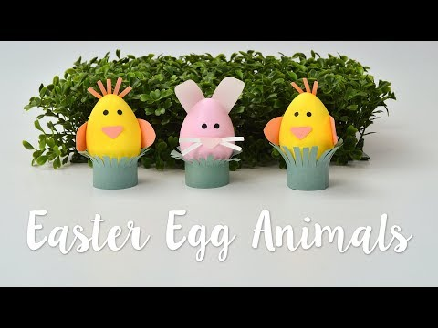 DIY: Easter egg animals