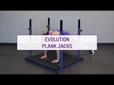 Evolution Plank Jacks