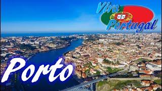 Porto, Portugal (4K, DJI Phantom 3 Pro)