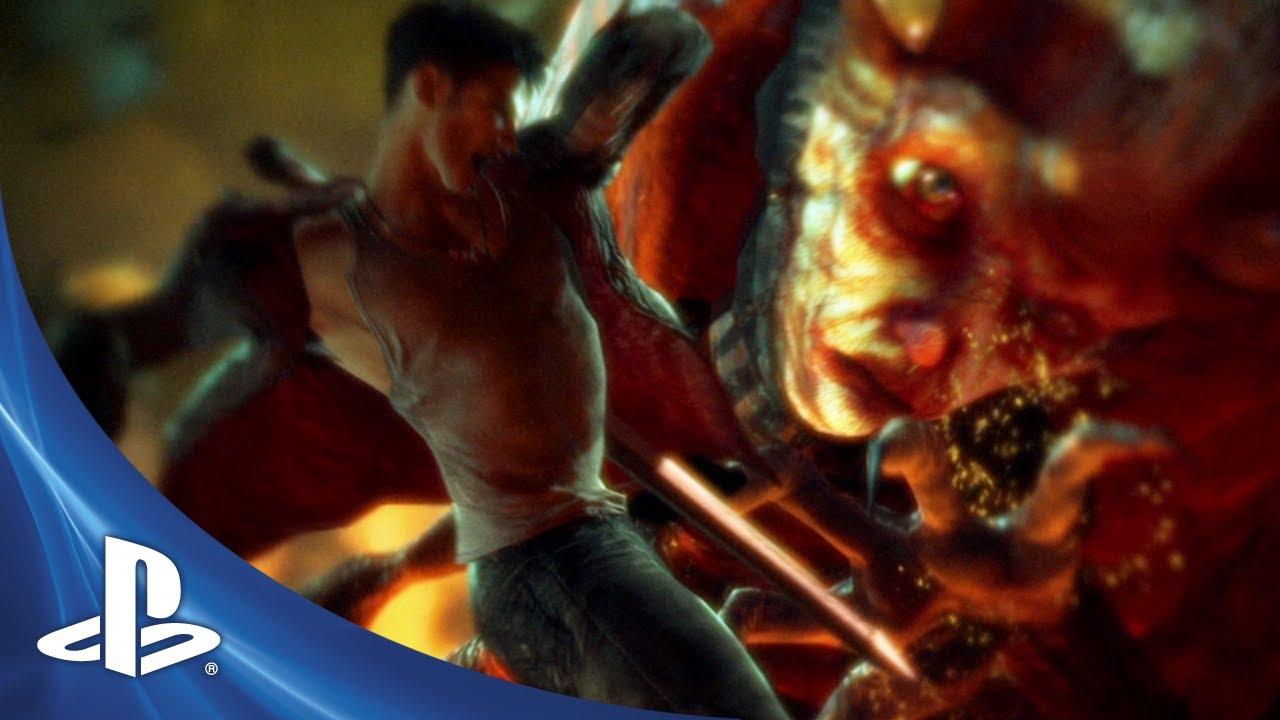 Catch Devil May Cry's E3 Trailer