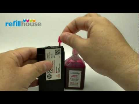 How to refill HP 950/ 951 setup, 950XL/ 951XL Ink Tank - Magictube Refill System