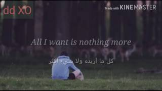 Kodaline _ All I Want مترجمة With Lyrics