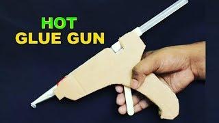 How to Make a Hot Glue Gun at Home DIY - Tutorial