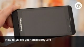 How to unlock your BlackBerry Z10