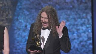 Weird Al Yankovick Wins Best Boxed or Special Package | 2019 GRAMMYs Acceptance Speech