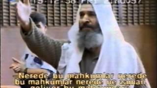 Müslim Efendi'den DGM Hakimlerine ..