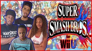 OH NO! WE CAN'T SEE!! - Family Beatdown I Super Smash Bros. Gameplay