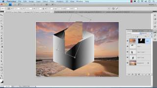Creating 3D Photo Cube In Photoshop