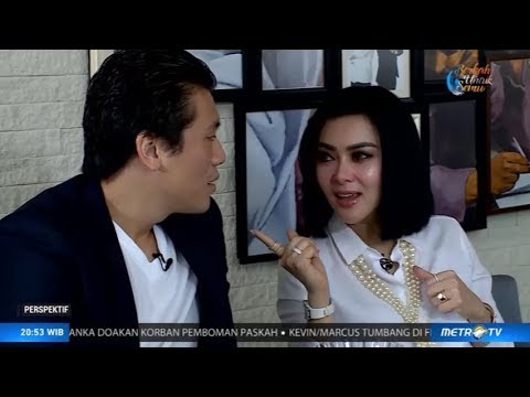 Perspektif - Metro TV - A Day With Syahrini & Reino Barack