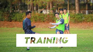 Training   Đối kháng, mưa bàn thắng và màn nhảy múa của Brandao   HAGL chuẩn bị trước trận Hà Nội