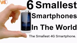 Smallest Phone In The World -The Smallest 4G Smartphone