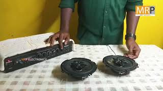 Sony 4 inch Car SPEAKER Unboxing And Sound test