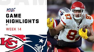 Chiefs vs. Patriots Week 14 Highlights | NFL 2019