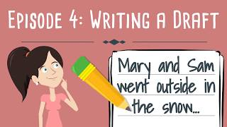 Realistic Fiction Writing For Kids Episode 4: Writing A Draft