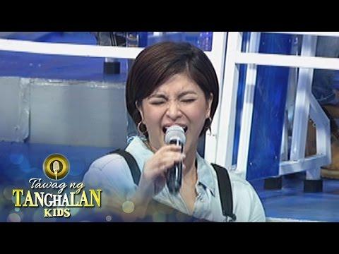 Tawag ng Tanghalan Kids: Angel shows how to whistle