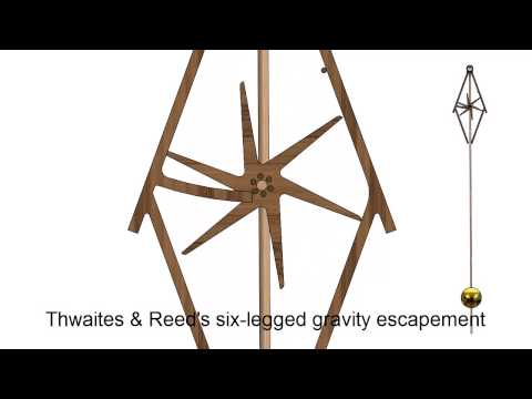 Six-Legged Gravity Escapement – Thwaites and Reed's
