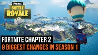 Fortnite Chapter 2 Season 1 | 9 Biggest Changes