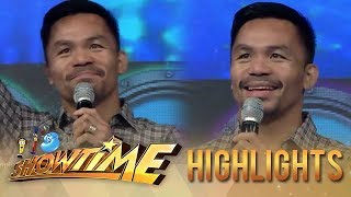 It's Showtime: People's champ Manny Pacquiao visits It's Showtime