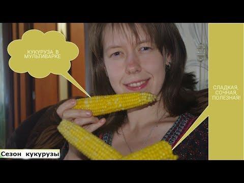 Кукуруза в мультиварке. Как варить кукурузу. Кукуруза в початках.