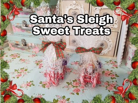 Sweet Treats - Santa's Sleigh- Christmas Eve Box Filler