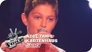Adel Tawil - Kartenhaus (Jaimy) | Blind Auditions | The Voice Kids 2016 | SAT.1