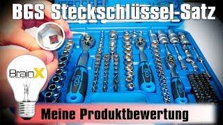 BGS Steckschlüsselsatz Mobiler Werkzeugkoffer Ratschenkasten Test
