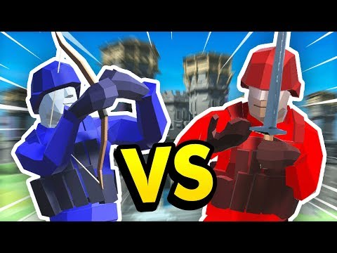 INCREDIBLE FORT DEFENSE *RED vs BLUE* IN Ravenfield (Ravenfield