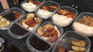 Meal Prep As A College Student! Bulk/Shred