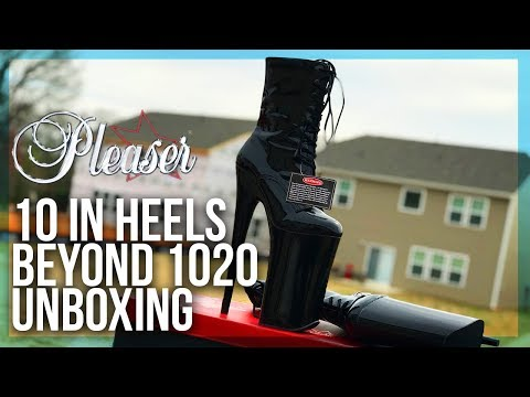 EXTREME 10 Inch (26cm) Platform Heel Boots Unboxing!