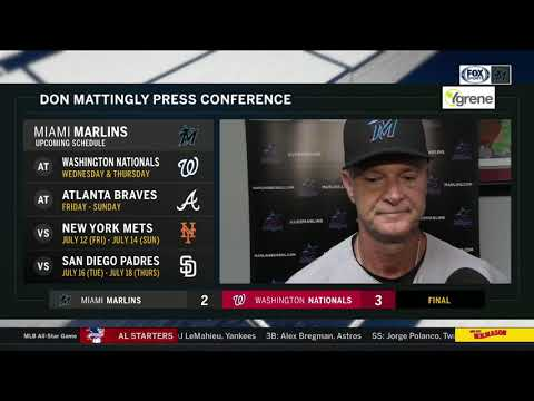 POSTGAME REACTION: Miami Marlins vs Washington Nationals 07/02/19