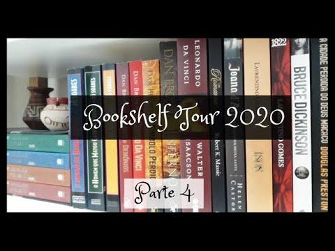 Bookshelf Tour 2020: Parte 4 | VEDA 22 | Um Livro e Só