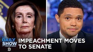 Nancy Pelosi's Impeachment Procession & Lev Parnas's Paper Trail | The Daily Show