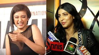Shruti Hassan reacts on Akshara's debut film 'Shamitabh'