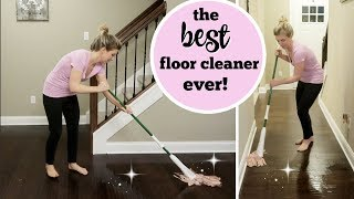HOW I KEEP MY FLOORS CLEAN WITH KIDS & PETS | DEEP CLEANING MY FLOORS  | DIRTY FLOOR CLEANING HACK