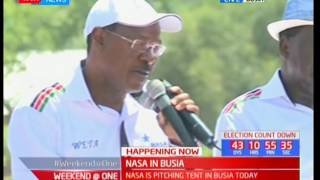 NASA continues with rallies in western