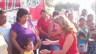 preview picture of video 'Angelica Araujo Lara en Celestún Yucatán'