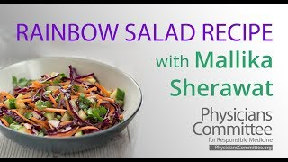 Rainbow Salad Recipe With Mallika Sherawat