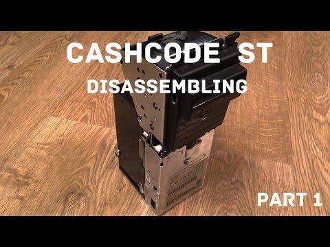 Разбираем купюроприемник CASHCODE ST (PART1)