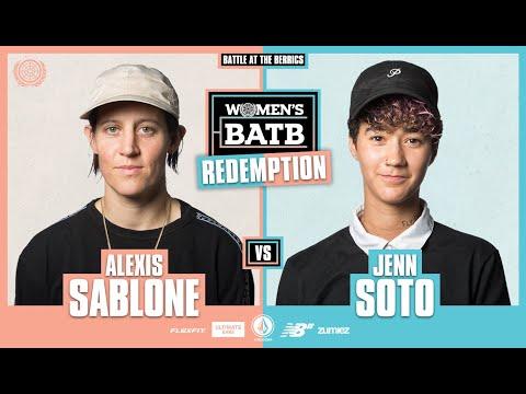 WBATB Finals | Redemption Battle: Alexis Sablone vs. Jenn Soto