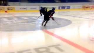 preview picture of video 'Trénink bruslení - Hokejové centrum mládeže Kladno'