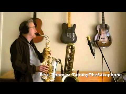 Shed Full of Blues on Taming the Saxophone