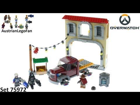 Vidéo LEGO Overwatch 75972 : L'escorte à Dorado