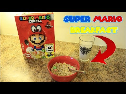 Saturday Morning Breakfast with Super Mario Cereal mp3