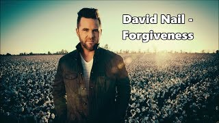 David Nail - Forgiveness - Lyrics