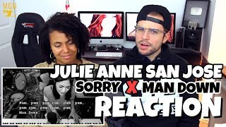 Julie Anne San Jose - Sorry x Mandown | Justin Bieber x Rihanna | REACTION